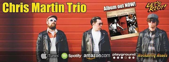 Chris Martin Trio Tour Dates