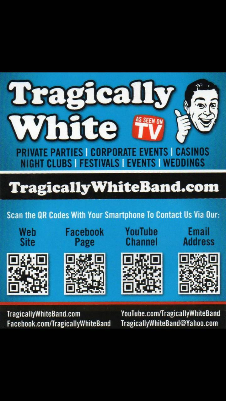 Tragically White Tour Dates
