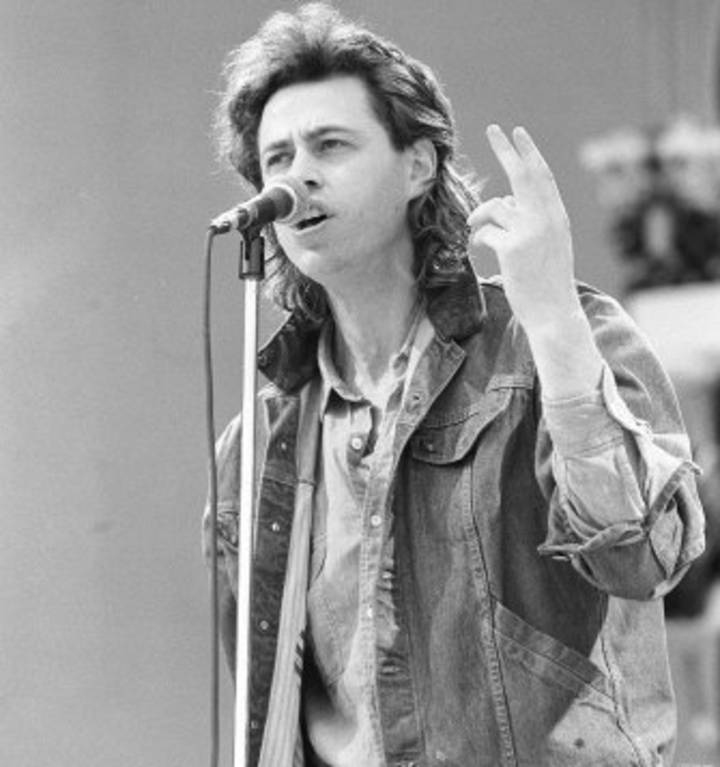Bob Geldof Tour Dates