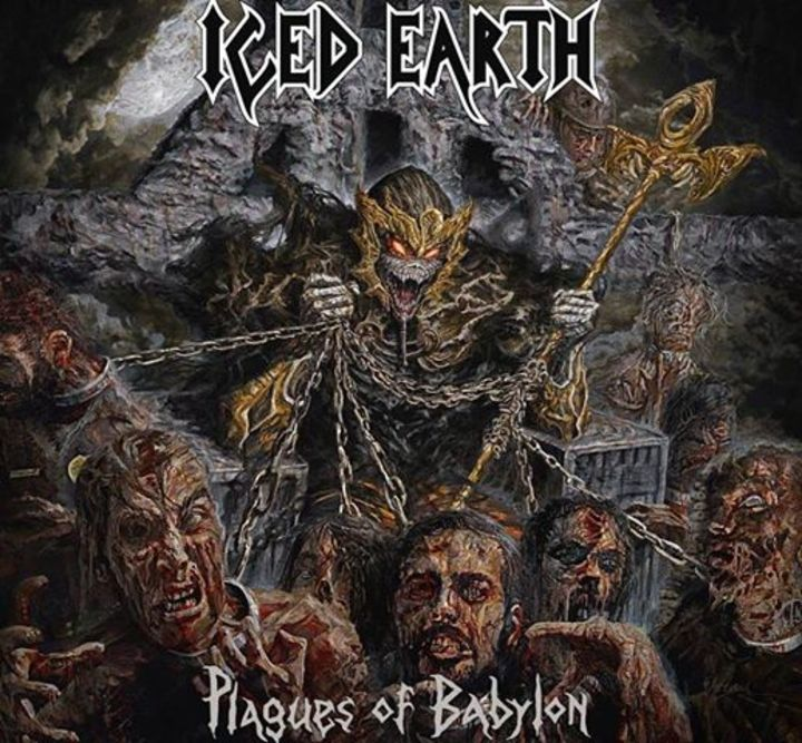 Iced Earth @ Lanxess Arena - Cologne, Germany