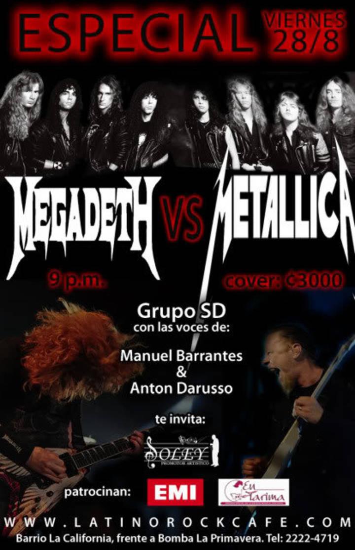 Metallica Vs Megadeth Tour Dates
