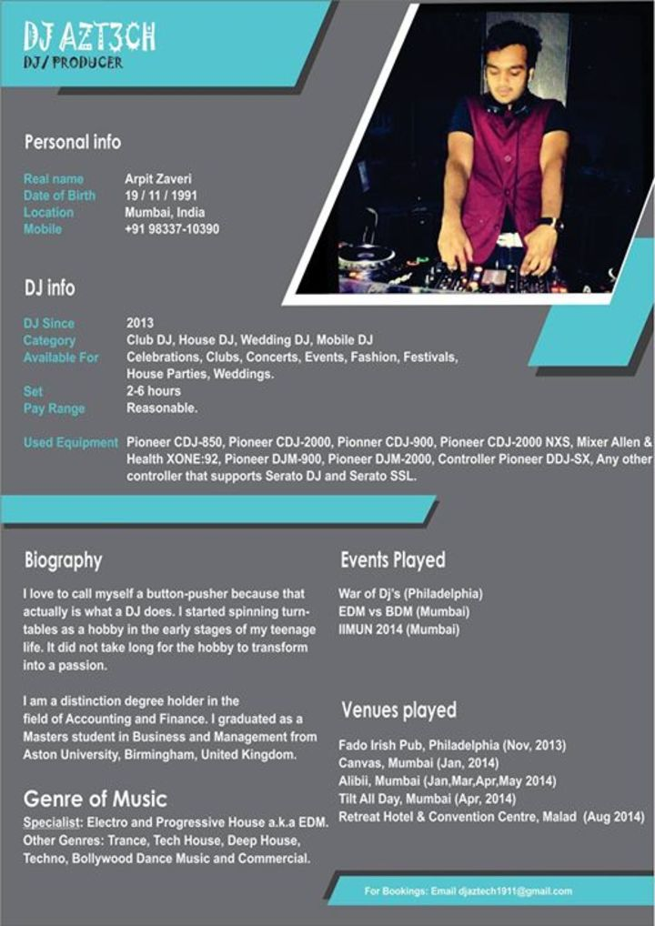 DJ AzTech Tour Dates
