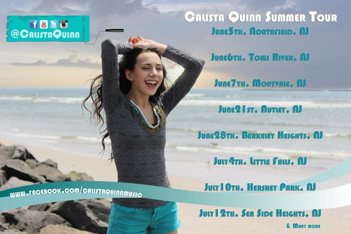 Calista Quinn Tour Dates