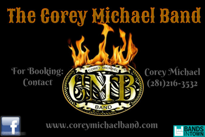 The Corey Michael Band Tour Dates