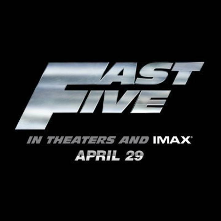 Fast Five Tour Dates