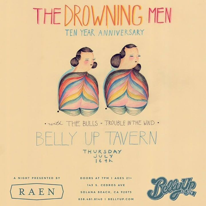 The Drowning Men @ Theaterfabrik - Munich, Germany