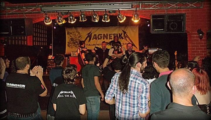 Magnetika italian metallica tribute Tour Dates