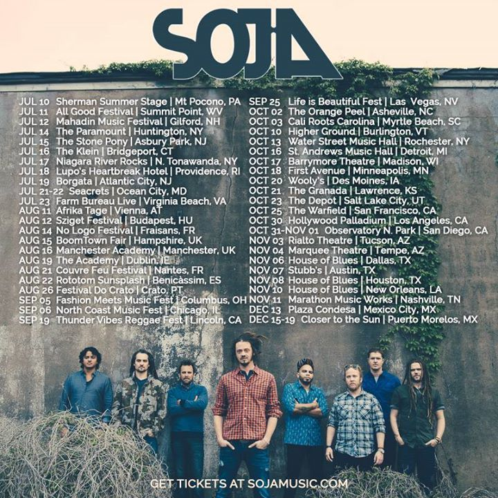 SOJA @ Rams Head Live - Baltimore, MD