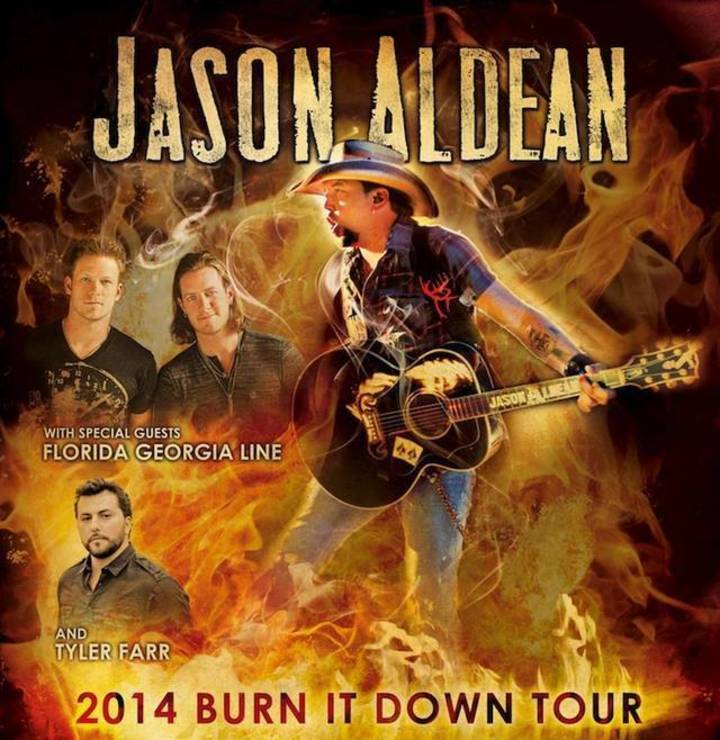 Jason Aldean - 2013 Night Train Tour Tour Dates