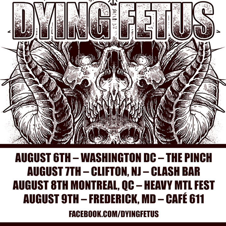 Dying Fetus @ Skyway Theater - Minneapolis, MN