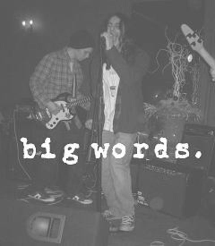 Big Words Tour Dates