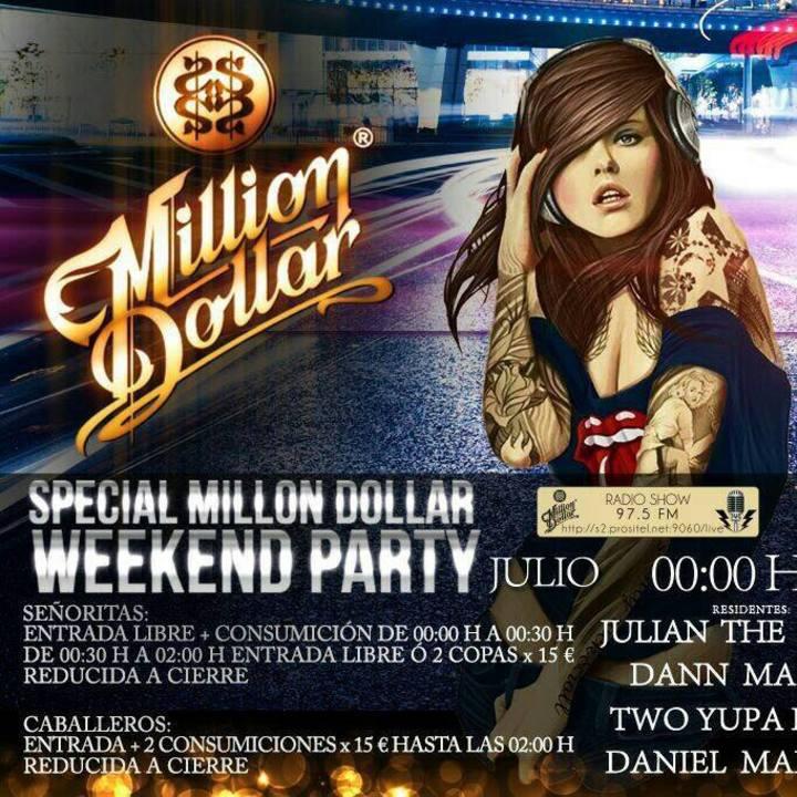 MILLION DOLLAR Tour Dates