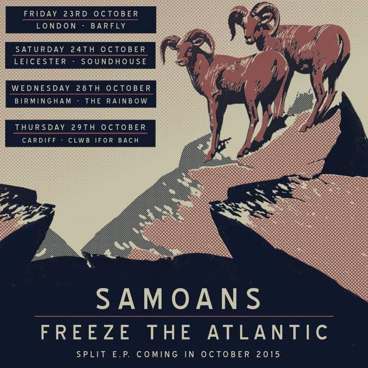 Freeze The Atlantic Tour Dates