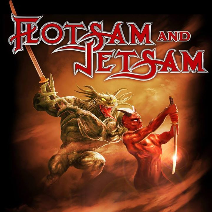 Flotsam and Jetsam Official @ C-Club - Berlin, Germany