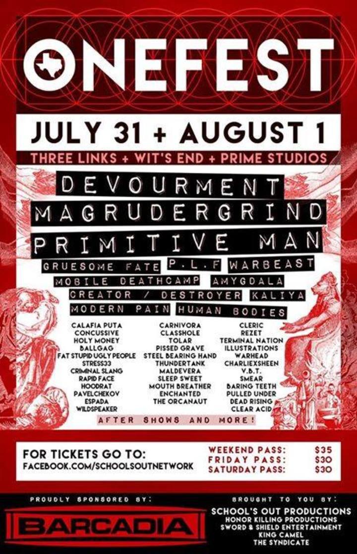Devourment Tour Dates