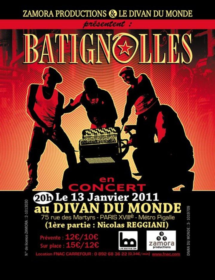 BATIGNOLLES Tour Dates