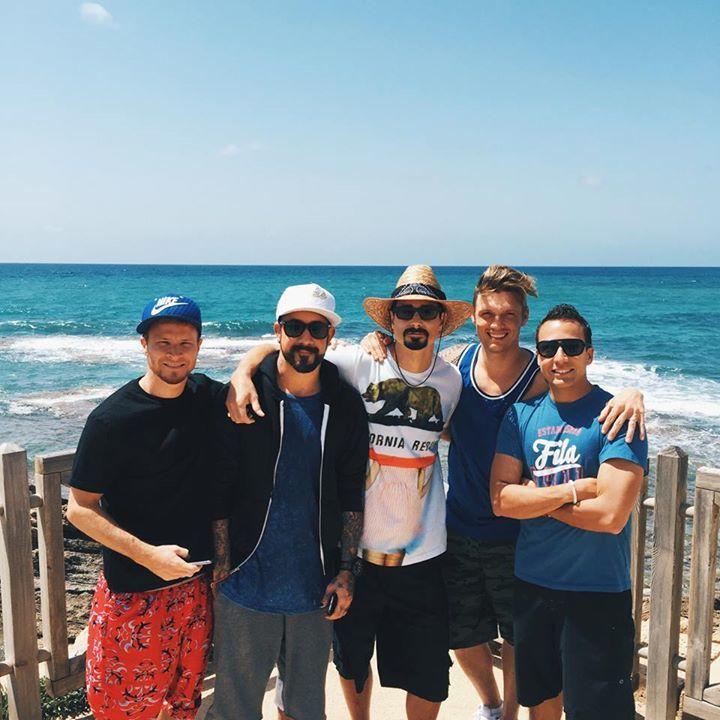 Backstreet Boys @ Arena - Saint Petersburg, Russian Federation