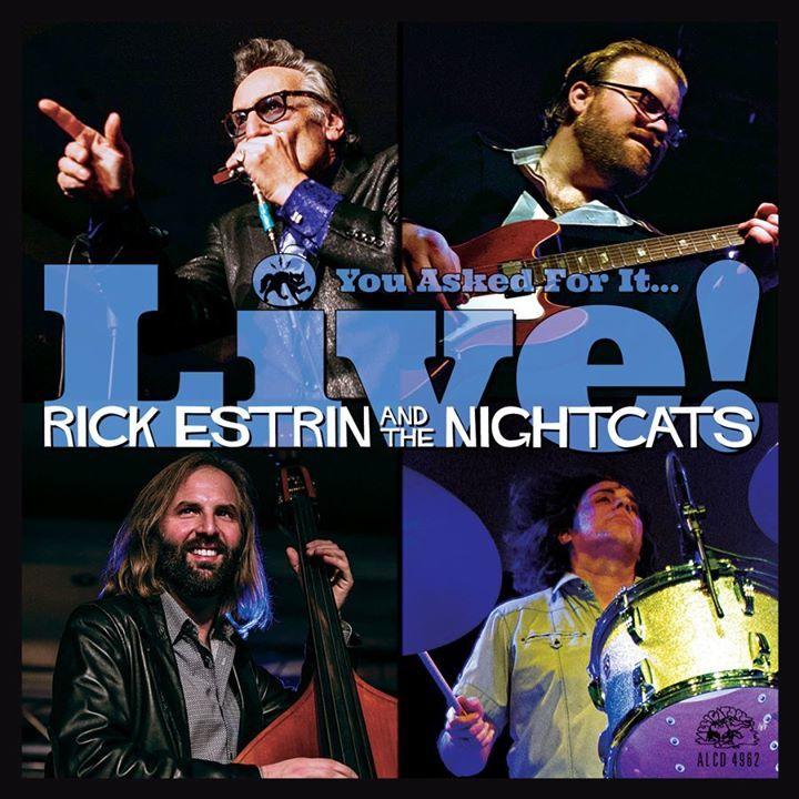 Rick Estrin & The Nightcats @ Historic 4th & Virginia - Sioux City, IA