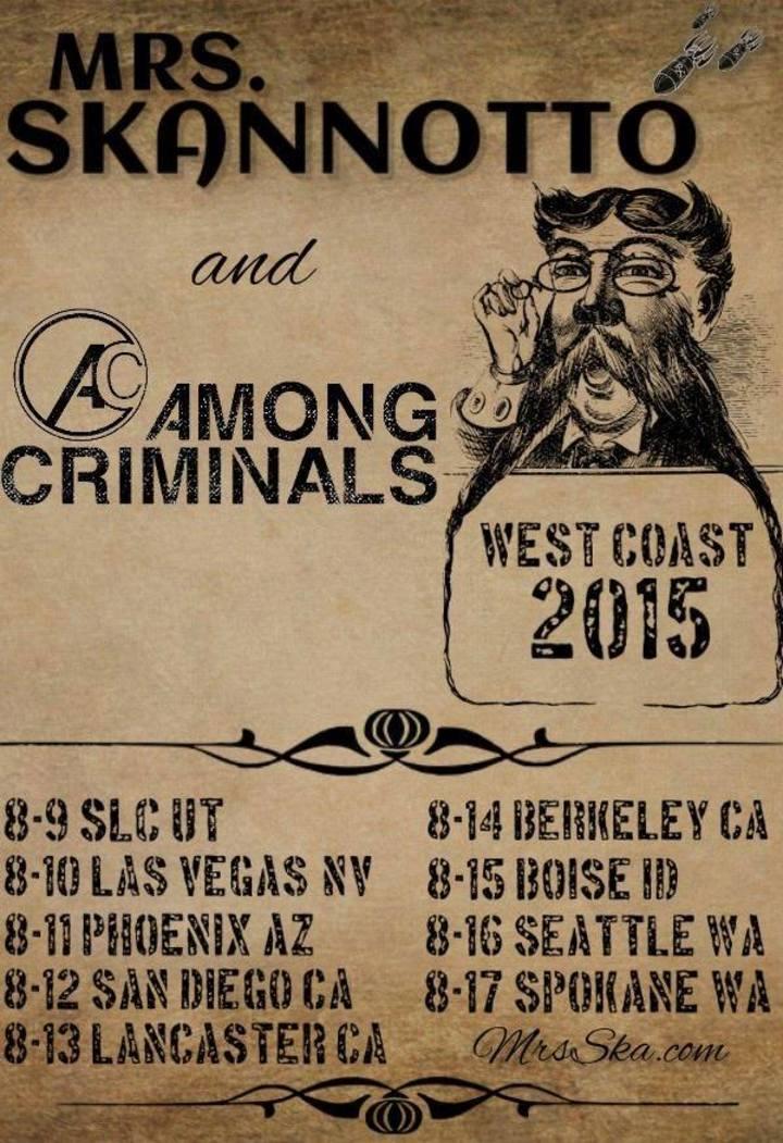 Among Criminals @ 8x10  - Baltimore, MD