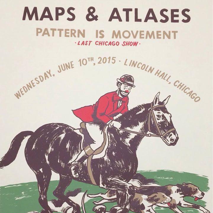 Maps & Atlases @ Nice 'N' Sleazy - Glasgow, United Kingdom