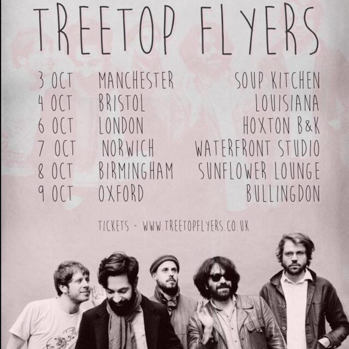 Treetop flyers @ The Fleece - Bristol, United Kingdom