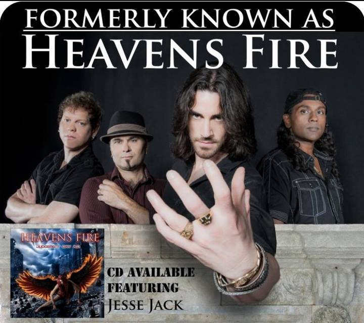 Heavens Fire Official Since Year 1998 Tour Dates