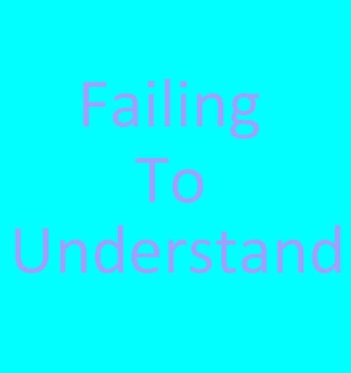 Failing To Understand Tour Dates