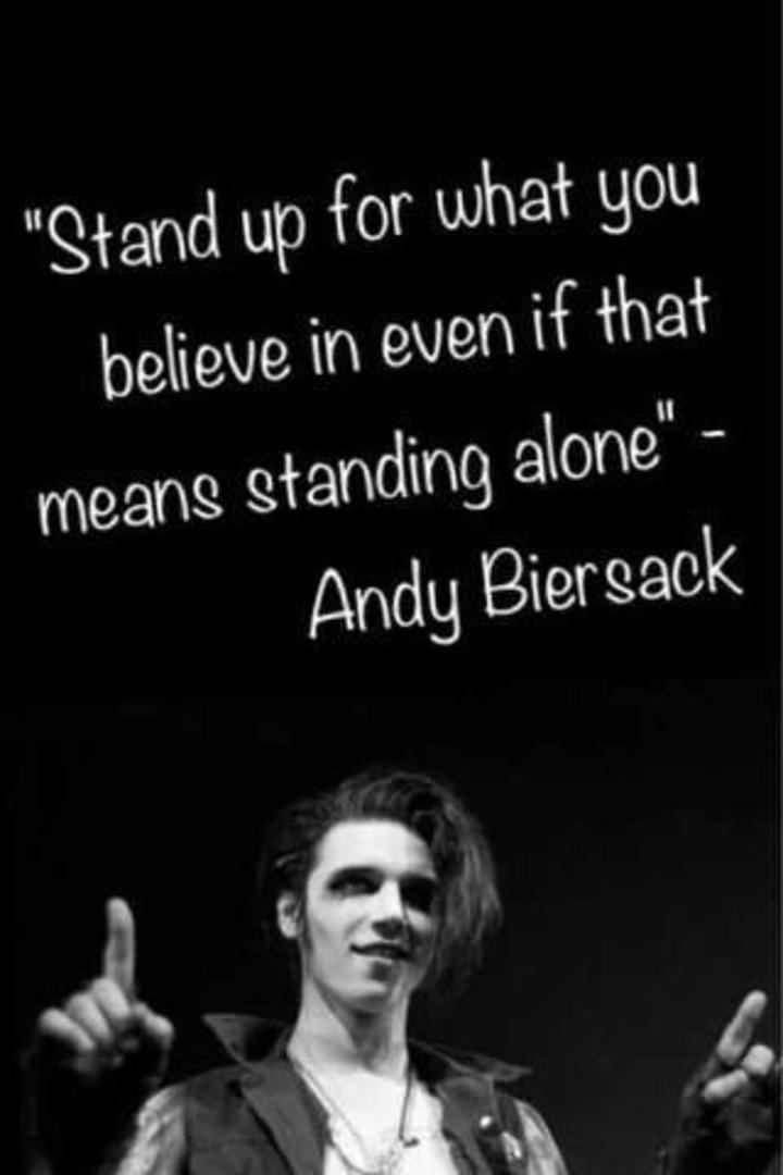 Andy Biersack Fans Tour Dates