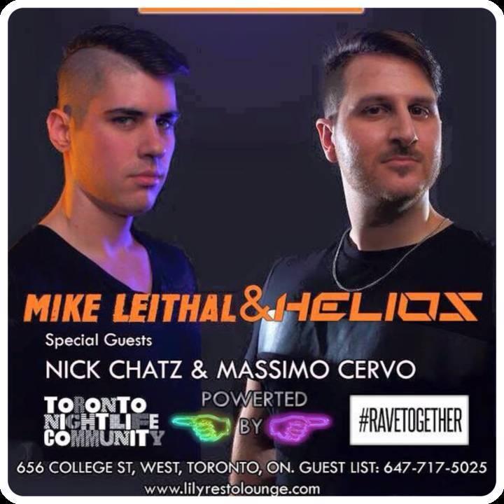 Helios Tour Dates