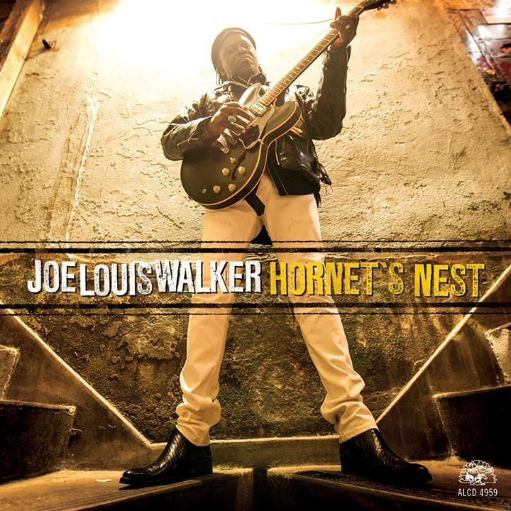 Joe Louis Walker @ The State Theatre (Guest of Mark Hummel's Blues Harmonica Blowout) - Modesto, CA