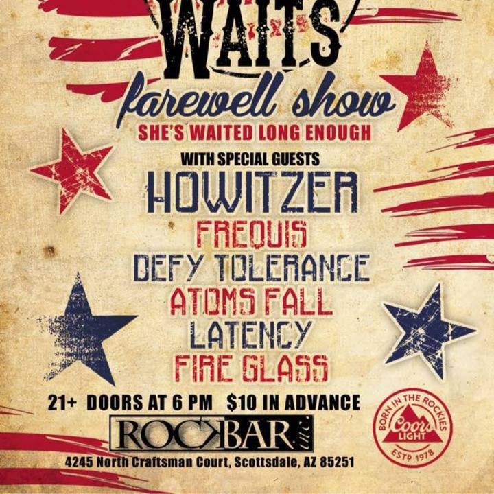 HOWITZER @ Another Hole In The Wall - Steger, IL