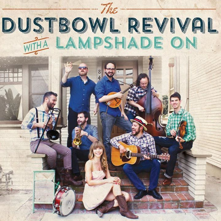 the Dustbowl Revival @ The Griffin w/ Euphoria Brass Band - San Diego, CA