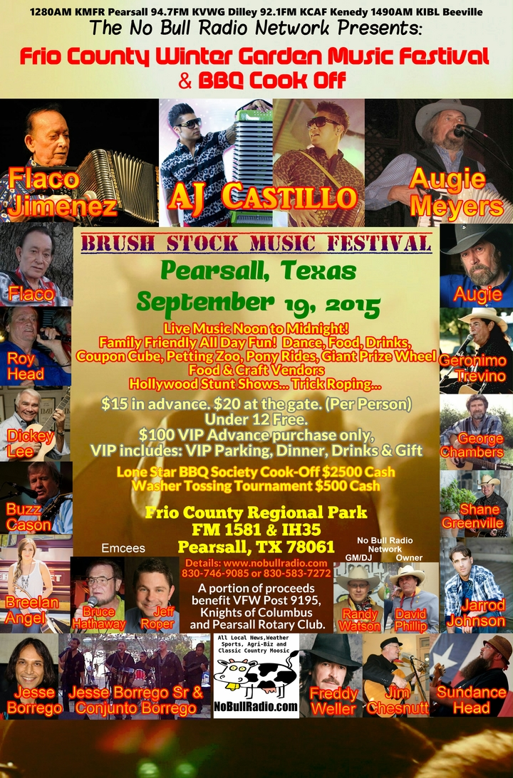 frio county winter garden music festival and bbq cook off
