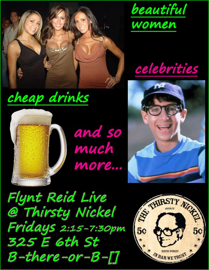 Flynt Reid Tickets - Thirsty Nickel   Bandsintown