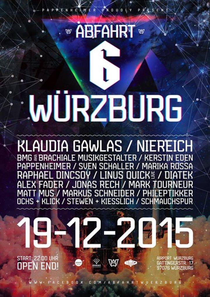Abfahrt Würzburg Tour Dates