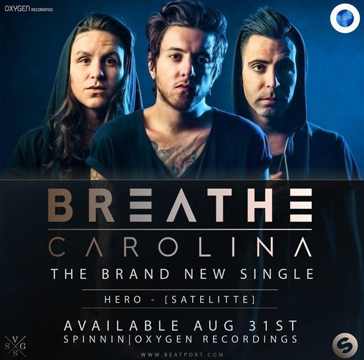 Breathe Carolina Tour Dates