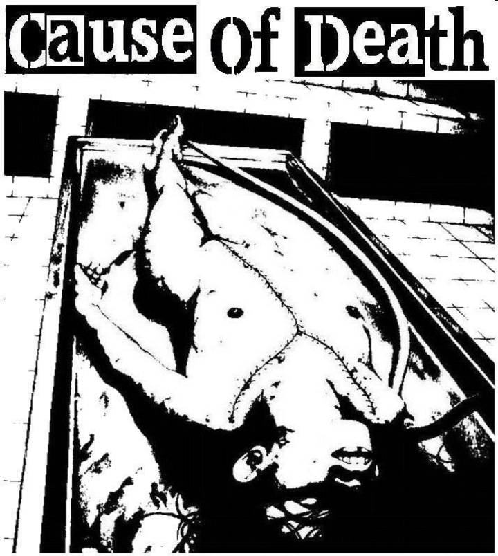 Cause of Death @ The Legacy Room - Chino, CA
