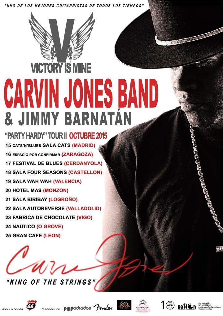 Carvin Jones Band @ Yardbirds Club - Grimsby, United Kingdom