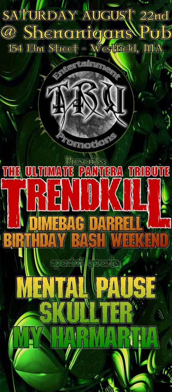 Trendkill Pantera Tribute Tour Dates