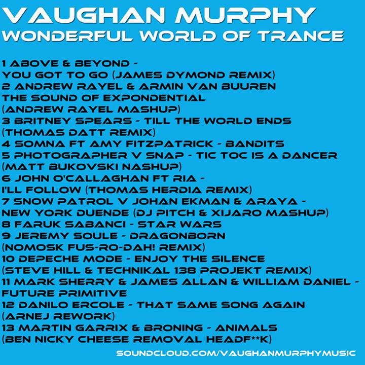 SDV Tour Dates