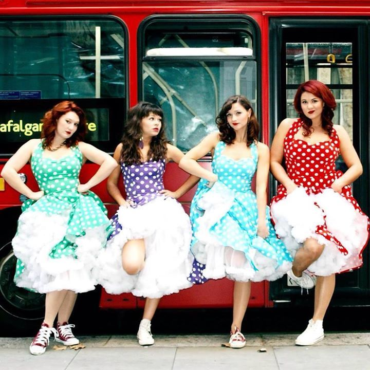 Four Femmes on the Thames Tour Dates