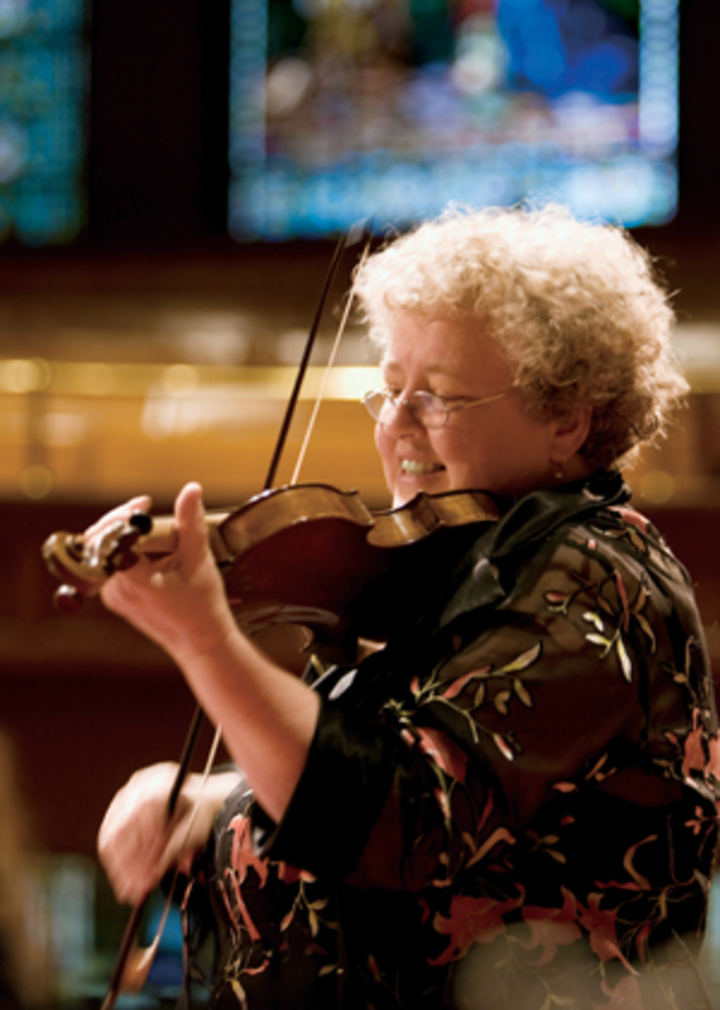 Monica Huggett @ Madison Avenue Presbyterian Church - New York, NY