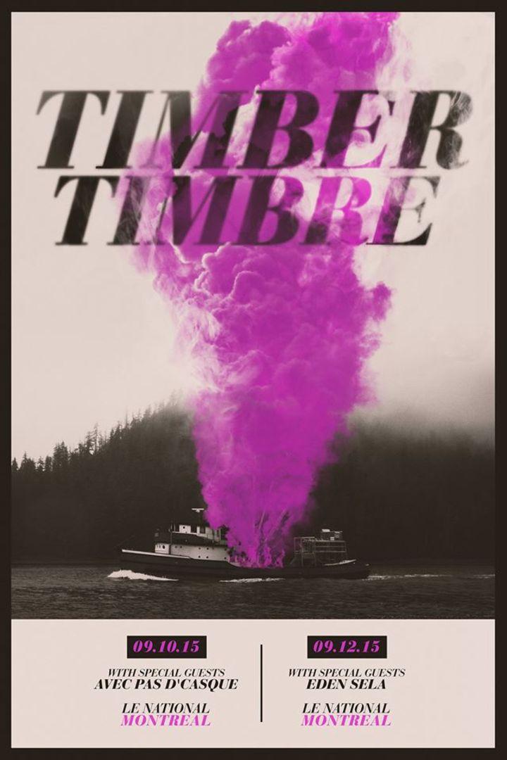 Timber Timbre @ Thomas Wolfe Auditorium - Asheville, NC