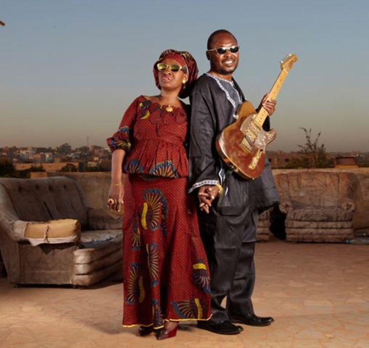 Amadou & Mariam @ THEATRE SIMONE SIGNORET - Conflans Sainte Honorine, France