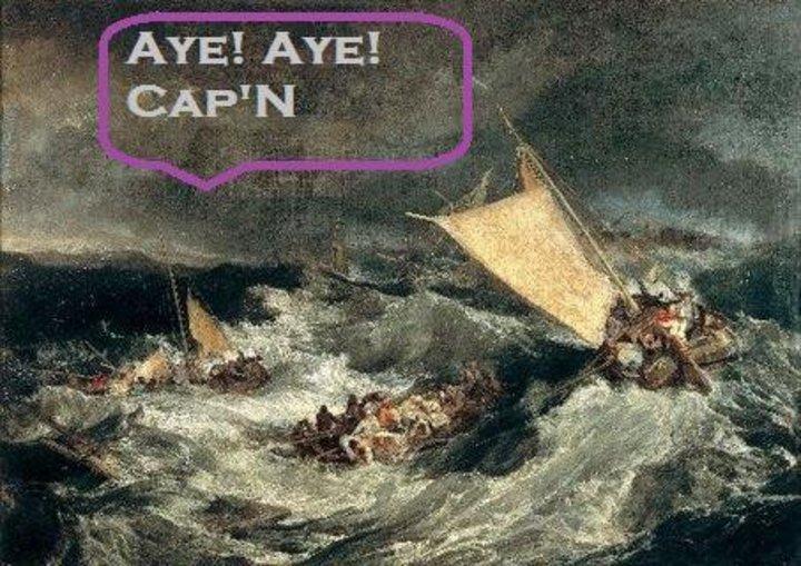 Aye! Aye! Cap'n Tour Dates