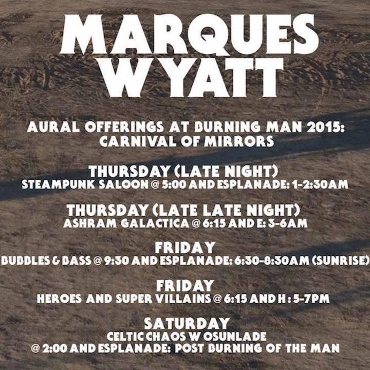 Marques Wyatt @ Public Works - San Francisco, CA