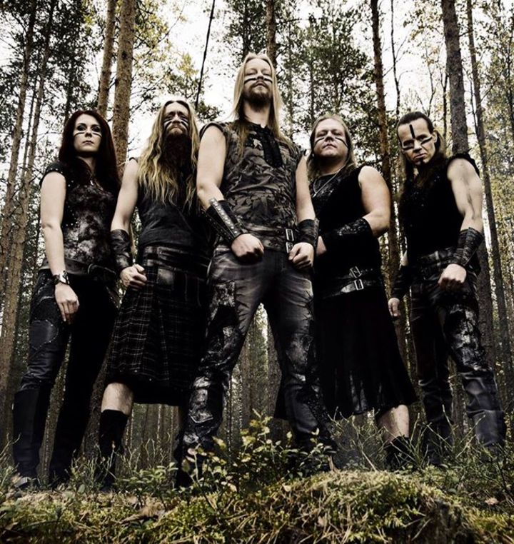 Ensiferum @ Domaine De Moncel - Jarny, France