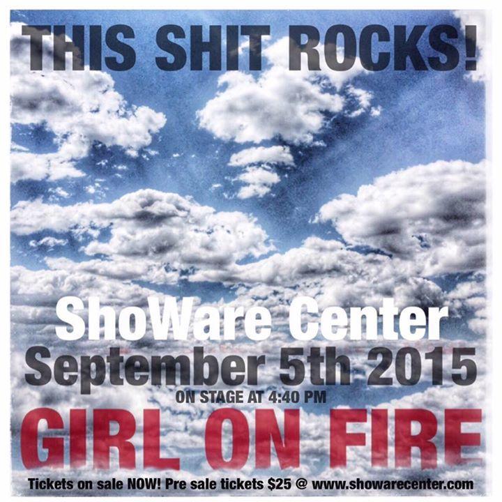 Girl on Fire @ The Varsity Theatre - Baton Rouge, LA