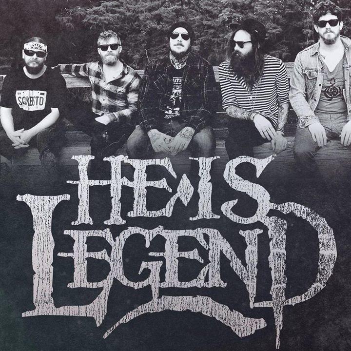 He Is Legend @ Leon's Lounge Inside Chameleon Room - Oklahoma City, OK