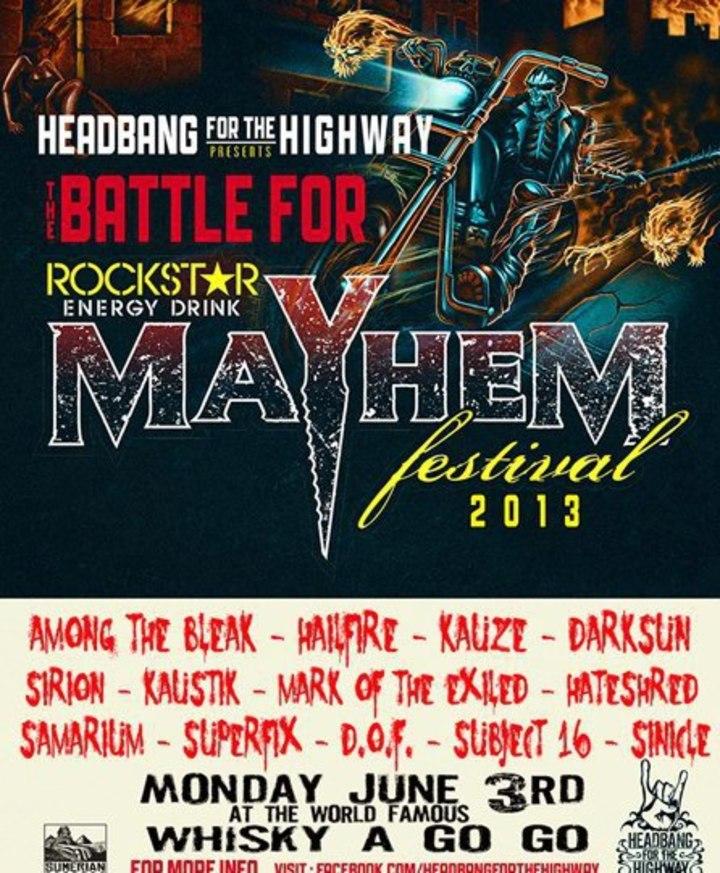 Hateshred Tour Dates